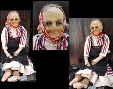 Vieille Poupée Basque / Old Basque Doll - Art Populaire