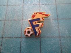 Pin1214b Pin´s Pins / Beau Et Rare : SPORTS : FOOTBALL FFF COQ FEDERATION FRANCAISE - Football