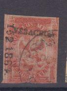 MEXICO  EAGLE 8R 1864 VERACRUZ PER 2   152-1864 Very Fine - Messico