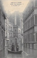 PARIS INONDE ( INONDATIONS DE 1910 ) Crue De La Seine : Rue Chanoinesse - CPA - Seine - Inondations De 1910