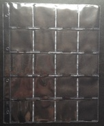 10 Pochettes A4 (20 Cases)- NEUF / 10 Hoezen A4 (20 Vakken)- NIEUW - Matériel