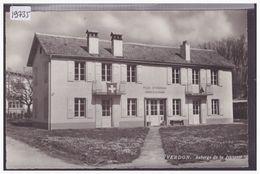 DISTRICT D'YVERDON - YVERDON - AUBERGE DE JEUNESSE - CARTE NON CIRCULEE - TB - VD Vaud