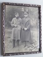 Kader / Cadre ( 19 X 24 Cm.) ( 5 Op Muts / Béret ) A Mon Bon Camarade Nele 1930 Armand S... ( Zie Foto's Voor Detail ) ! - Guerra, Militari