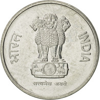 INDIA-REPUBLIC, 10 Paise, 1988, SUP, Stainless Steel, KM:40.1 - Inde