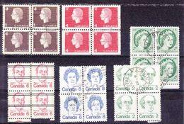 CANADA - 6 BLOC DE 4 - - Canada