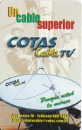 TARJETA DE BOLIVIA DE MAGNIFICA COTAS CABLE TV ANTENA PARABOLICA - Bolivia