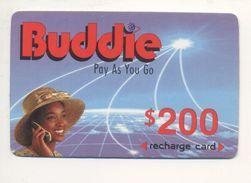 ZIMBABWE - Buddie - Prepaid Card - 200 $ - Cardboard - - Simbabwe