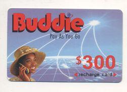 ZIMBABWE - Buddie - Prepaid Card - 300 $ - Cardboard - - Simbabwe