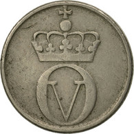 Norvège, Olav V, 10 Öre, 1961, TTB, Copper-nickel, KM:411 - Norvège