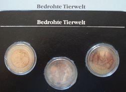 (J) ANDORRA: Mint Set 3 Bimetallic Coins 1984 BU (198)    LIQUIDATION SALE!!!!! - Andorra