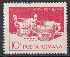 3114 Romania 1982 Water Buckets, Hunedoara. Suceava Used - 1948-.... Repubbliche