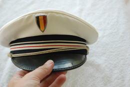 Casquette Obsolette Brigadier Chef Police Francaise - Cascos
