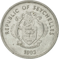 Seychelles, 25 Cents, 1993, Pobjoy Mint, SUP, Nickel Clad Steel, KM:49a - Seychelles