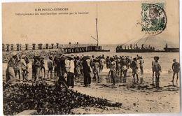 ILES POULO-CONDORE - Débarquement Des Marchandises Arrivées Par Le Courrier - Viêt-Nam