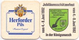 #D150-190 Viltje Herforder - Bierviltjes