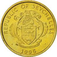 Seychelles, 5 Cents, 1995, British Royal Mint, SUP, Laiton, KM:47.2 - Seychelles