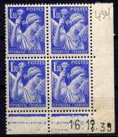 FRANCE - CD434** - TYPE IRIS - Coins Datés
