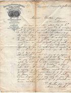 VP10.510 - Lettre - Manufacture De Quincaillerie & Ferronnerie Usine A Vapeur MALLEN Père & Fils à BEAUMONT DE LOMAGNE - France
