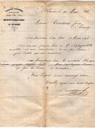 VP10.511 - Lettre - Serrurerie, Ferronnerie, Quincaillerie, Armes De Luxe BOUGY Père & Fils à SAINT ETIENNE - France