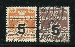 DENMARK Dänemark 1955 Michel 358 - 359 O - Dänemark