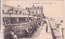 CPA -  76. HOULGATE - Le Casino Et La Digue - Houlgate
