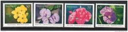 2006 Bahamas Flowers Vines Plants Complete Set Of 4  MNH - Bahamas (1973-...)
