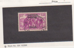 CAMEROUN - Scott # 275 - ELEPHANTS / CAMEROUN  FRANCAIS  Used - Cameroun (1915-1959)