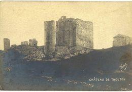 CPA N°2890 - LE THOR - CHATEAU DE THOUZON - Frankreich