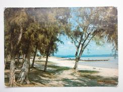 Postcard Blue Bay Mauritius Ile Maurice Postally Used Kenya 1978 By Technic Studio My Ref B21596 - Mauritius