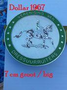 Medaille :Netherlands-Vereniging Van Dressuur Ruiters / Association Of Dressage Riders  (horse)   Pays-Bas - Netherland