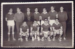 Fotografia EQUIPA ANDEBOL Regimento Cavalaria Nº6 (PORTO) Nome Dos Jogadores / Campeonato Militar ANDEBOL 1960s PORTUGAL - Handball