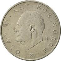 Norvège, Olav V, Krone, 1976, TTB, Copper-nickel, KM:419 - Norvège