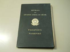 Passaporte * Passeport * Brazil * 1947 - Documents Historiques
