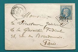 Seine Et Oise - Corbeil Pour Paris - Marcophilie (Lettres)