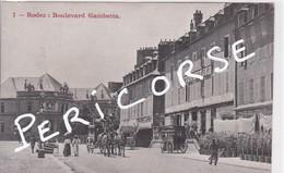 12  Rodez  Boulevard Gambetta Hotel Biney - Rodez
