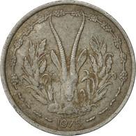 West African States, Franc, 1975, Paris, TB, Aluminium, KM:3.1 - Ivory Coast