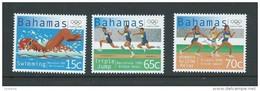 Bahamas 2000 Sydney Olympic Games Short Part Set Of 3 MNH - Bahamas (1973-...)