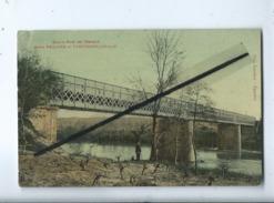 CPA Abîmée - Grand Pont De L'Hérault  , Entre Paulhan Et Campagnan - Autres Communes