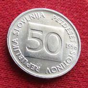 Slovenia 50 Stotinov 1996 KM# 3 Slovenie Eslovenia - Slovenia