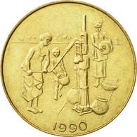 West African States, 10 Francs, 1990, Paris, SUP, Aluminum-Bronze, KM:10 - Ivory Coast
