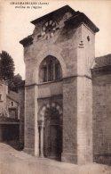 CHALMAZELLES PORCHE DE L'EGLISE TBE - France