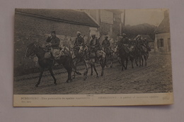 1914 Ribécourt Une Patrouille De Spahis Marocains - France