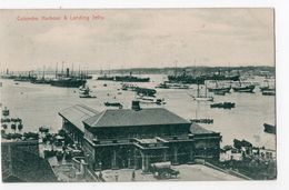SRI LANKA (CEYLAN)  -  COLOMBO - Harbour And Landing Jetty - Sri Lanka (Ceylon)