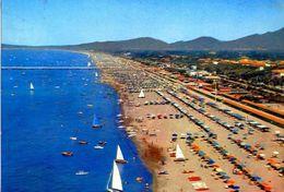 Forte Dei Marmi - La Spiaggia Dall'aereo - 9258 - Formato Grande Viaggiata – E 2 - Carrara
