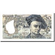 France, 50 Francs, 50 F 1976-1992 ''Quentin De La Tour'', 1984, 1984, KM:152b - 1962-1997 ''Francs''