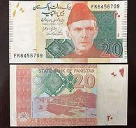 C) PAKISTAN BANK NOTE 20 RUPEES 2014 UNC - Pakistan