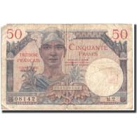 France, 50 Francs, 1947 French Treasury, Undated (1947), 1947, KM:M8, TB - Treasury