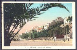 1930 , ANDALUCIA - MALAGA , BARRIO DE LA ALCAZABA , CIRCULADA - Málaga