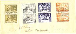 Barbados Fdc 1949 - Barbados (1966-...)