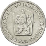 Tchécoslovaquie, 10 Haleru, 1963, SUP, Aluminium, KM:49.1 - Czechoslovakia